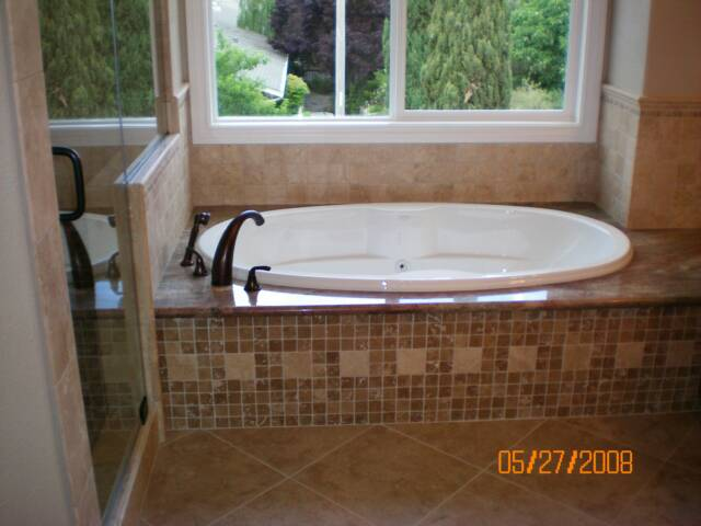Photo: Bathroom tub plumbing and remodel, Tri-Valley Licensed Plumber